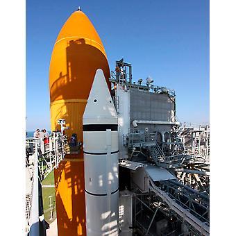 Avaruussukkula Endeavour riittävillä Juliste Tulosta Stocktrek kuvia