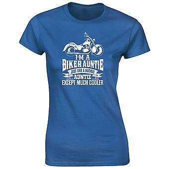 I 'm A Biker Tante außer viel Cooler Damen T-Shirt 8 Farben (8-20) von swagwear