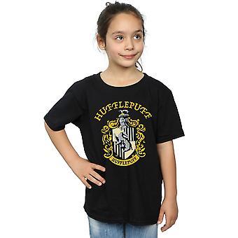 Harry Potter Girls Hufflepuff Crest T-Shirt