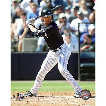 Giancarlo Stanton 2018 Action Photo Print