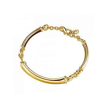Joop women bracelet silver gold SOFIA JPBR90350B195