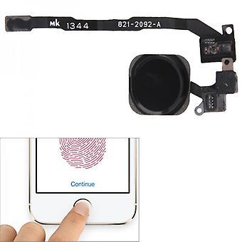 Compatible for Apple iPhone 5 sec Home button + Flex cable black