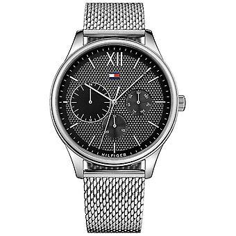 Tommy Hilfiger Men's Damon Acero Inoxidable Malla 1791415 Reloj