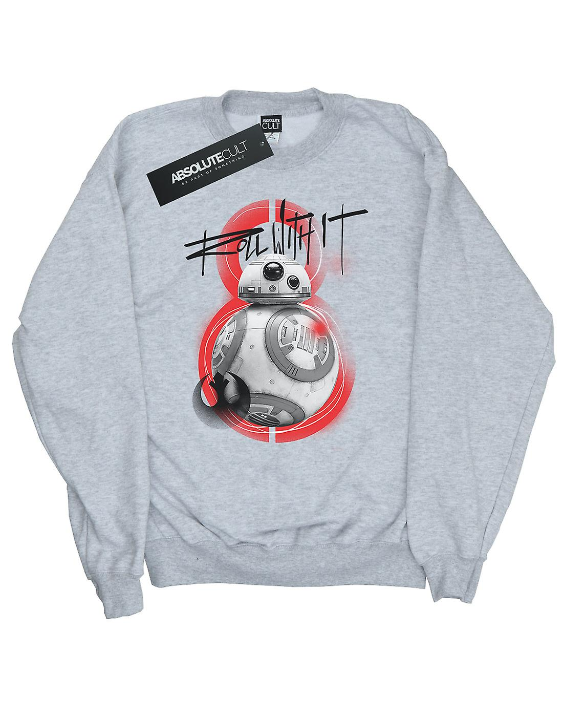 Star Wars Girls The Last Jedi BB-8 Roll With It Sweatshirt
