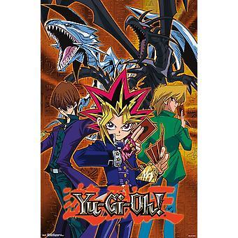 Yu-Gi-Oh - Group Poster Print