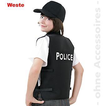 Policía traje chaleco niños Policía chaleco niño traje de policía