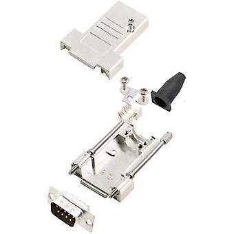 encitech DTSL09-T-JSRG+DMP-K 6355-0040-21 D-SUB pin strip set 180 ° Number of pins: 9 Solder bucket 1 Set