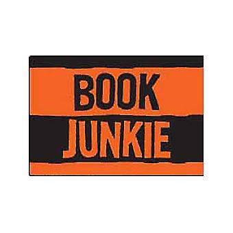 Book Junkie Fridge Magnet