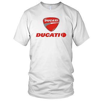 Italien Ducati Sport vélo moto Kids T Shirt