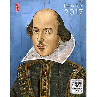 British Library Schreibtisch Tagebuch 2017 von British Library