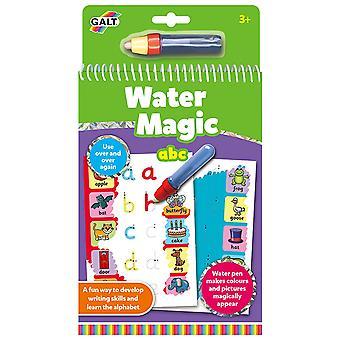 ABC mágico Galt agua, libro de colorear para niños