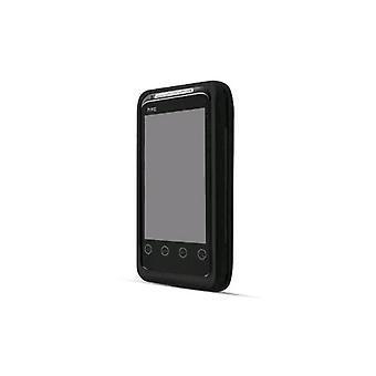 Technocel 炭素繊維シールドと HTC のエボのホルスター コンボ シフト 4 G - 黒