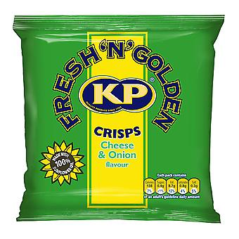 KP Cheese and Onion Crisps