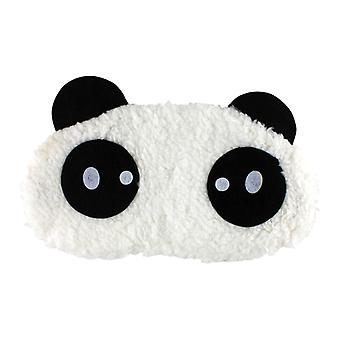 Innocent Panda, fluffy sleeping mask for travel and relaxation