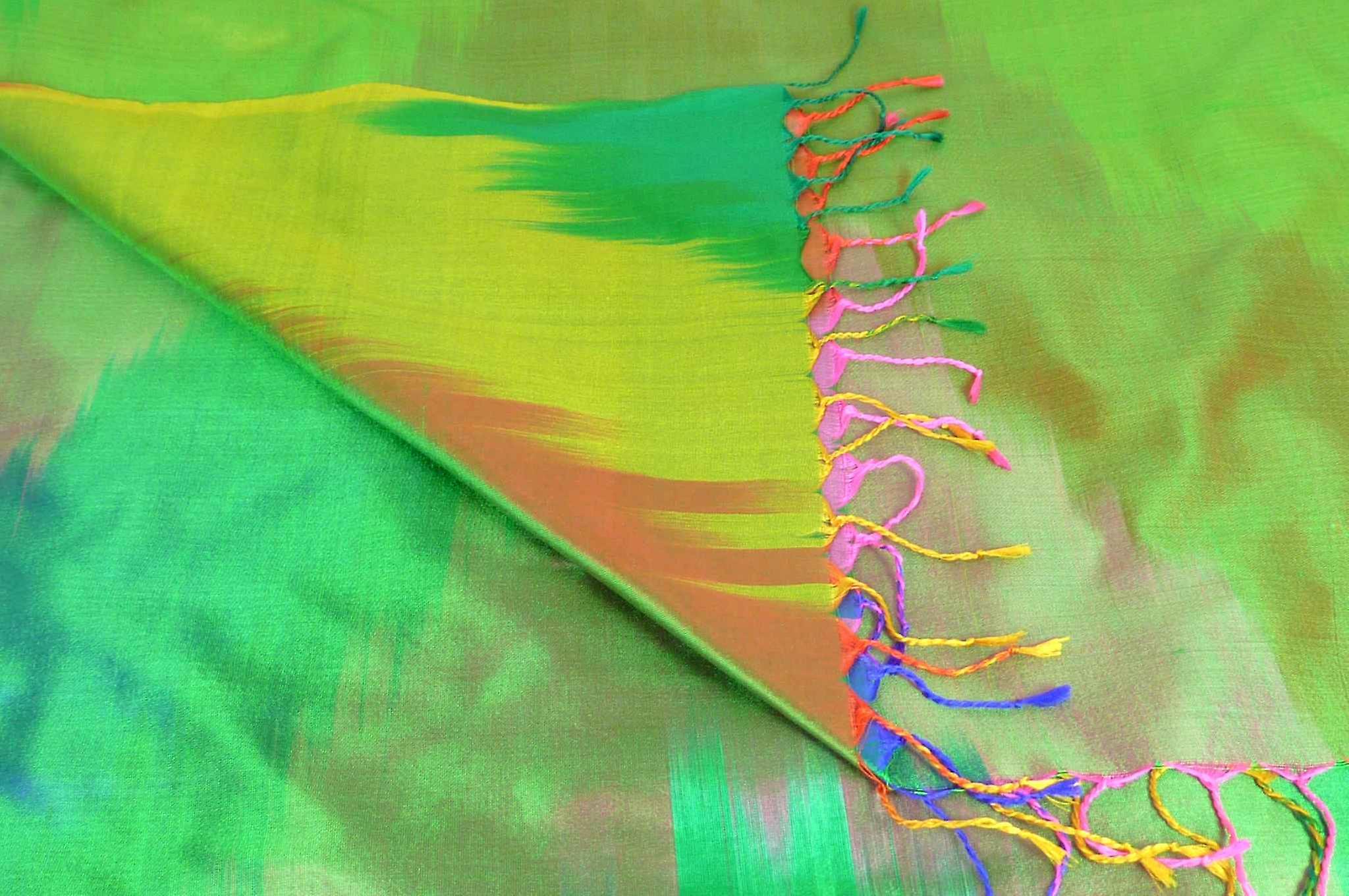 Varanasi Ekal Premium Silk Long Scarf Heritage Range Batra 7 by Pashmina & Silk