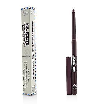 TheBalm Mr. Skriv långvarig eyeliner penna-# Romance (Prune)-0,35 g/0.012 oz