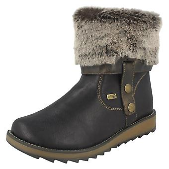 Ladies Remonte All Weather Warmlined Boots D8874