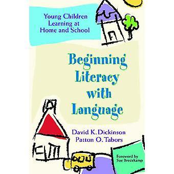 Commençant l'alphabétisation avec jeunes enfants (langue)-apprentissage à la maison et