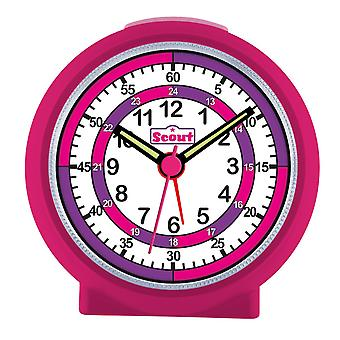Scout girls alarm clock alarm LearnTheTime pink 280001015