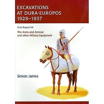 Utgrävningar på Dura-Europos 1928-1937, volym 7: vapen och pansar och annan militär utrustning