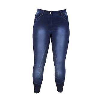 HyPERFORMANCE Womens/Ladies Cheltenham Denim Look Breeches