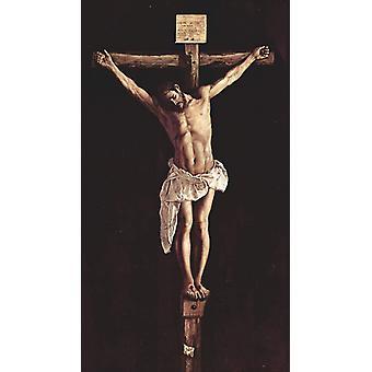 Cristo en la Cruz, Francisco de Zurbaran, 80x45cm