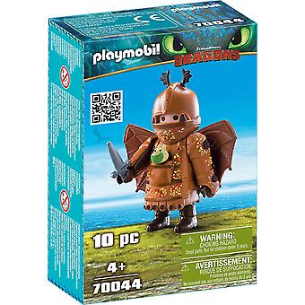 Playmobil 70044 Dragons - Fishlegs en combinaison de vol