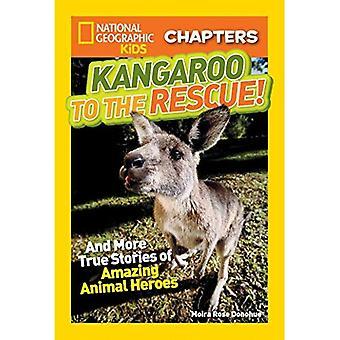Canguru para o resgate!: E mais histórias verdadeiras de incríveis animais heróis (filhos de geográfico nacional capítulos)