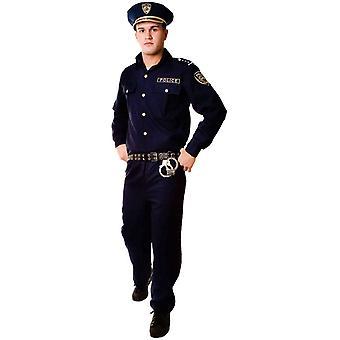 Polis dräkt vuxen
