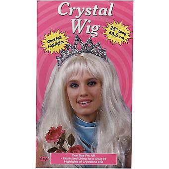 Crystal Blonde Wig For Adults