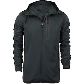 Quiksilver Mens Pioneer Zip Up Fleece - Black