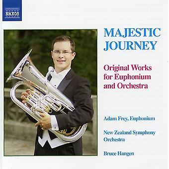 Majestätische Reise - majestätischen Reise: Originalwerke für Euphonium und Orchester [CD] USA Import