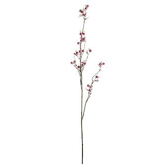 Hill Interiors Artificial Faux Hawthorne Berry Spray