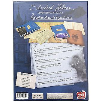 Sherlock Holmes Consulting Detective Carlton House and Queens Park
