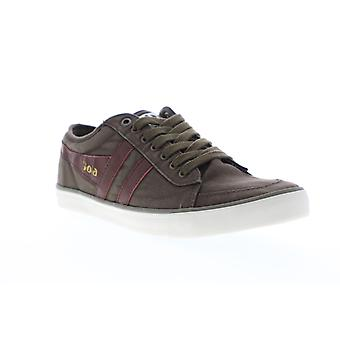Gola Comet  Mens Brown Canvas Retro Low Top Lifestyle Sneakers Shoes