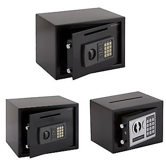Électronique Digital High Security Steel Home Office Safe Deposit Box Posting Slot