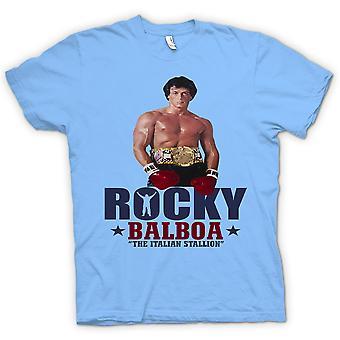 T-shirt - Rocky Balboa étalon italien - Vidéo