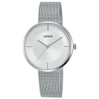 Lorus | Womens Stainless Steel Mesh Bracelet | Silver Dial | RG257QX9 Watch