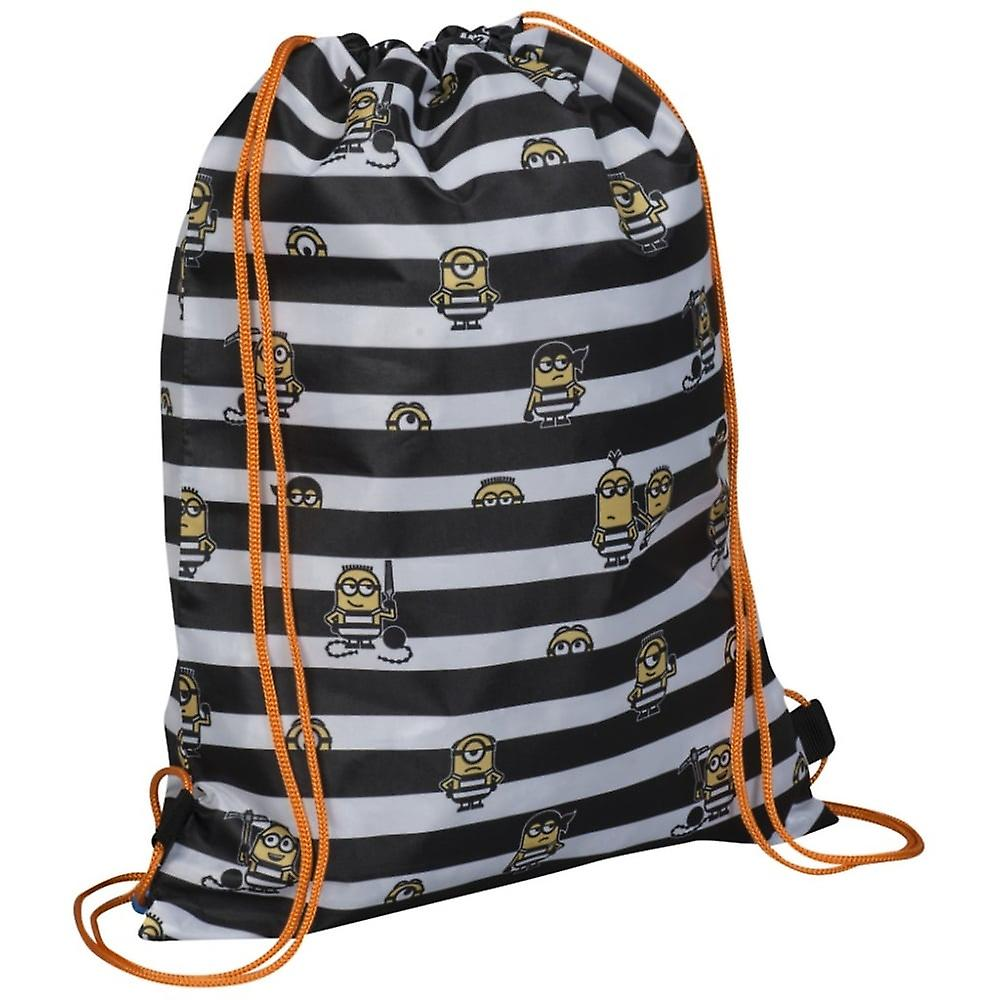 Minions Drawstring Trainer Tasche