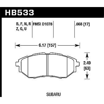 Hawk prestaties HB533B. 668 HPS 5,0