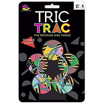Spill-Ceaco Brainwright-Tric Trac-den roterende platen Puzzle nye 8016d