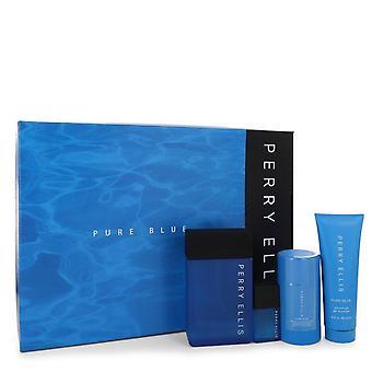 Perry ellis ren blå gave satt av perry ellis 546471