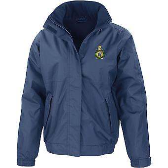 Kings Own Scottish Borderers - Licensed British Army Embroidered Waterproof Jacket With Fleece Inner