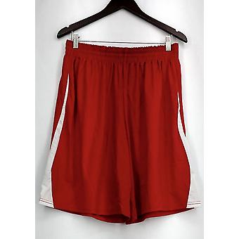 Holloway Plus Shorts (XXL) Performance Gym Style w/ Poches Red Womens