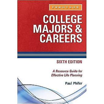 College Majors och karriär