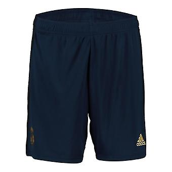2019-2020 Real Madrid Adidas away shorts (Navy)-børn