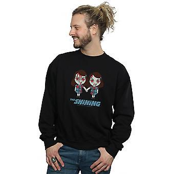 Die leuchtenden Männer's Zwillinge kommen und spielen Sweatshirt