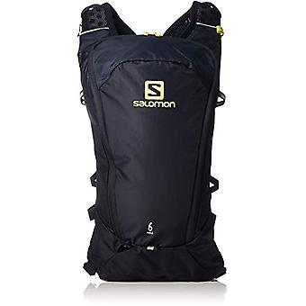 Salomon L40412700 - Leichter Laufrucksack 6 l Agile 6 Erwachsene Unisex Set - dunkelblau/gelb (Nachthimmel/Schwefelfrühling)