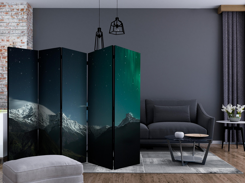 Paravent 5 volets - Northern lights [Room Dividers]