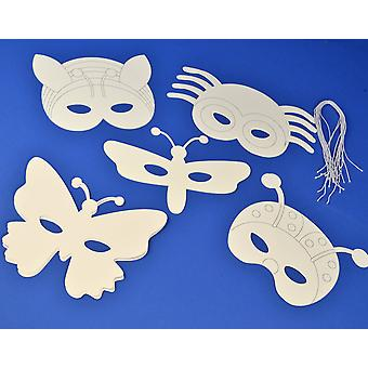 16 Insect & Bugs Masks to Decorate for Kids Crafts | Kids Insect & Bug Crafts